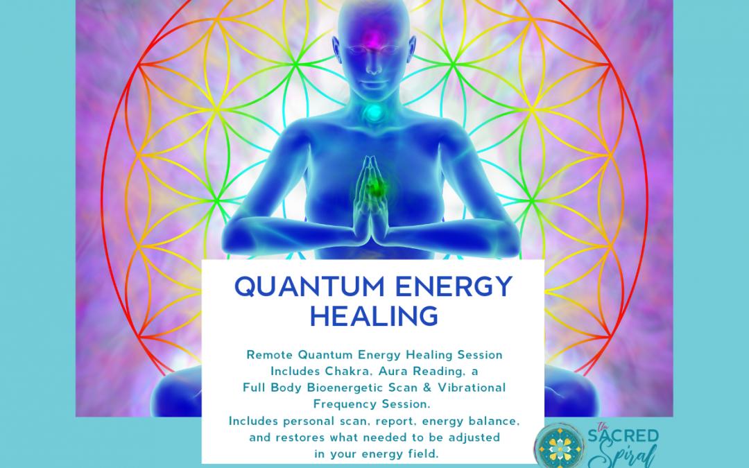Bioenergetic Frequency Quantum Energy Healing